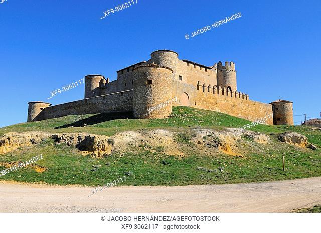 Castle of Almenar de Soria. Soria province. Castilla y León. Spain