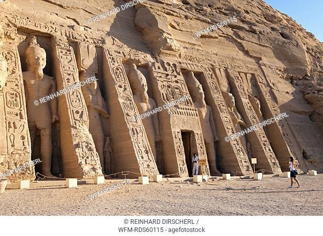Small Hathor Temple of Nefertari, Abu Simbel, Egypt
