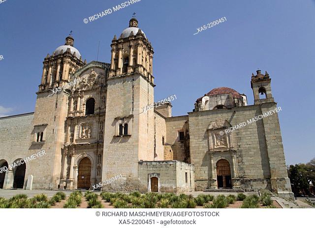 Mexico, Oaxaca, Oaxaca City, Santo Domingo de Guzman Church, began in 1570