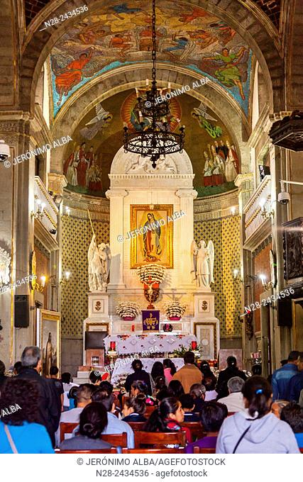 Capilla del Cerrito, Basilica of Our Lady of Guadalupe (Basilica de Nuestra Señora de Guadalupe), Mexico City, Mexico DF, Mexico