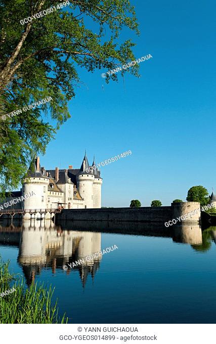 The Sully's Castle, Sully Sur Loire, Loiret, Centre, France