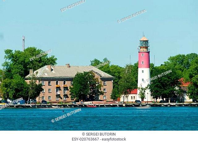Lighthouse is Baltiysk, Russia