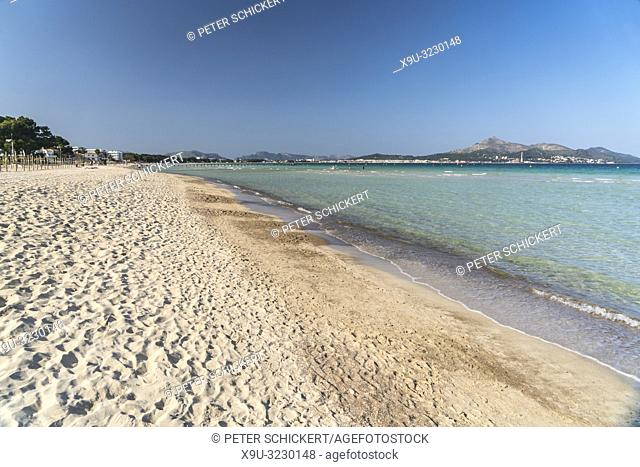 Strand Playa de Muro bei Akcudia, Mallorca, Balearen, Spanien |