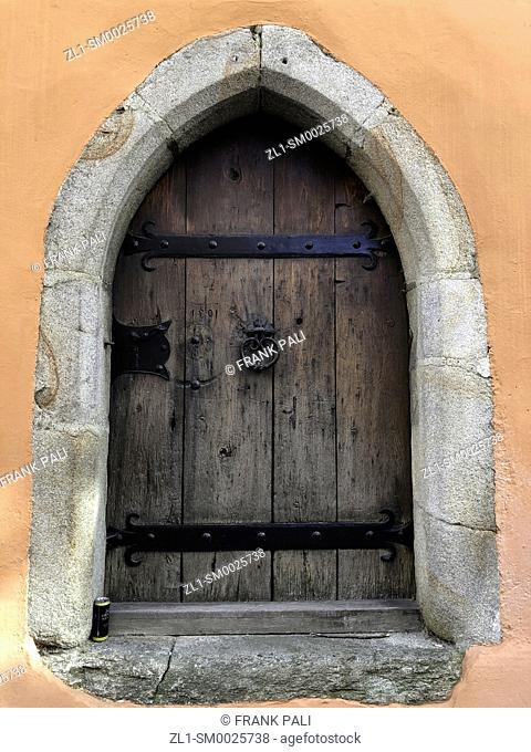 Old door in Passau Germany
