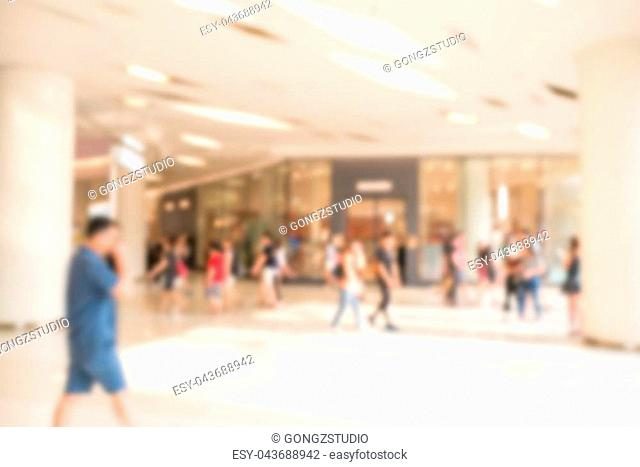 Abstract blurred image of business people traveling. use for brochure cover web design template background