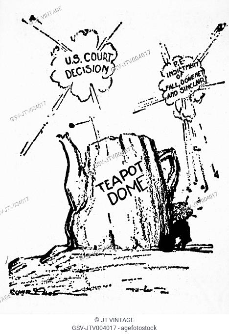 Teapot Dome Scandal Stock Photos And Images Age Fotostock