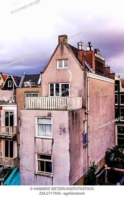 Typical architecture of Amsterdam, the Netherlands, Europe