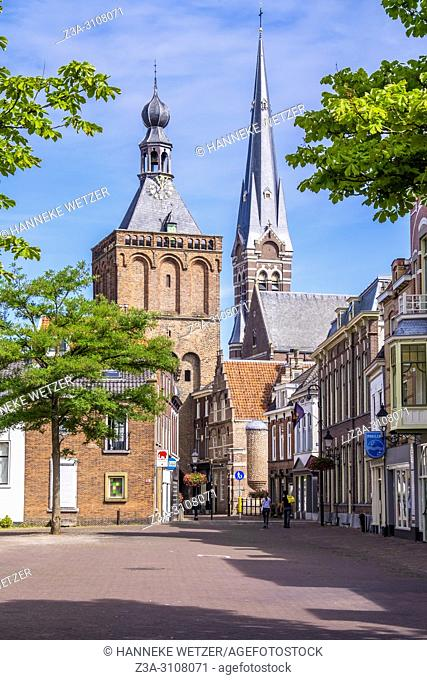 City Gate Tower in Culemborg, the Netherlands, Europe