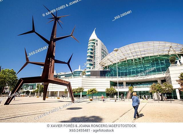 Shopping center Vasco da Gama in Parque das Nações - Park of the Nations -, Lisboa, Portugal
