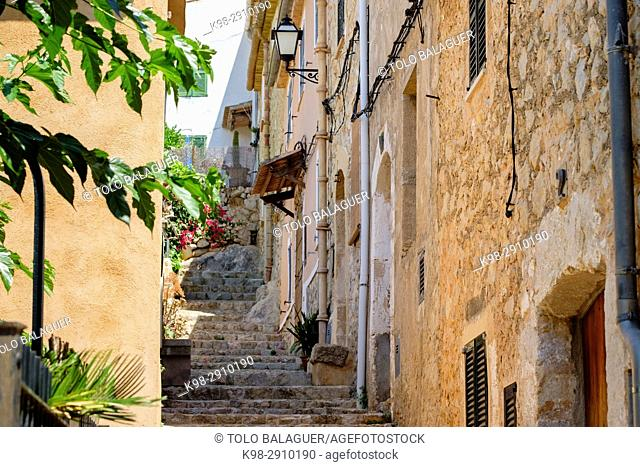 pasaje Gerreria, Alaró, comarca de Raiguer, Mallorca, Balearic Islands, Spain