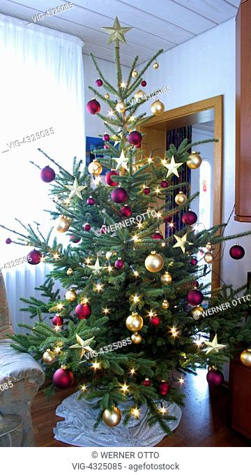 Otto Christbaumkugeln.Christmas Tree 2007 Stock Photos And Images Age Fotostock