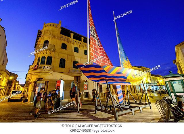 feria de arte Artnit, Campos, Majorca, Balearic Islands, Spain