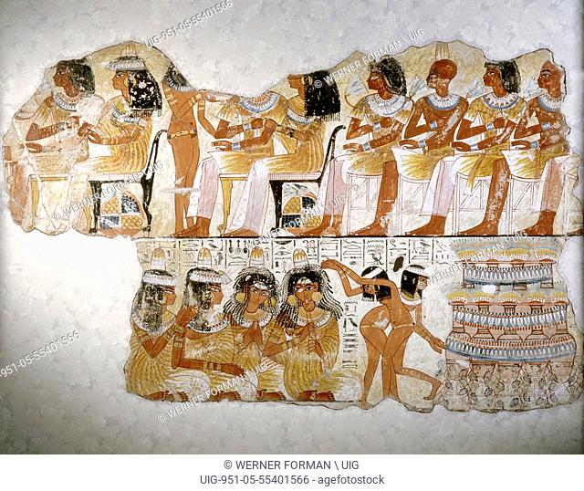 A painting from the tomb of Nebamun