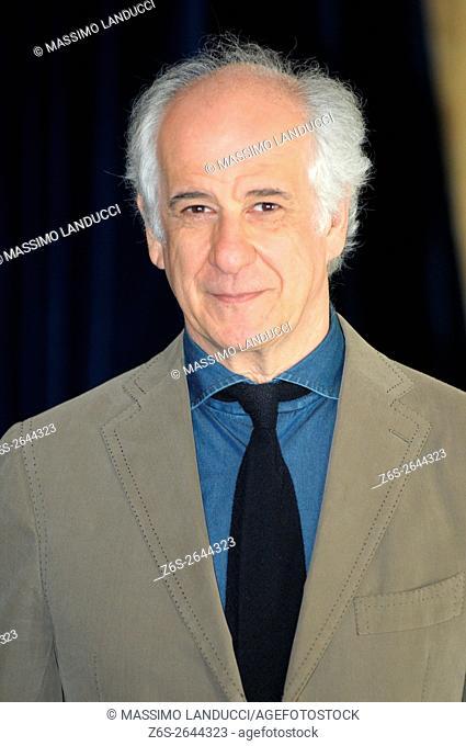 Toni Servillo;servillo; actor; celebrities; 2016; rome; italy; event; photocall ; le confessioni