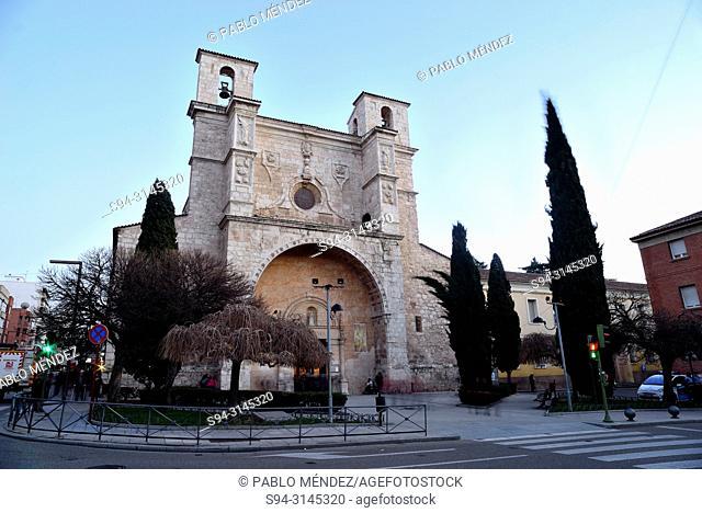 Church of San Gines in Guadalajara city, Spain