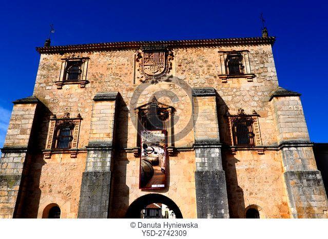 Archivo del Adelantamiento de Castilla (16th century), Archivo Adelantamiento, Arco del Archivo, Archive Arch, Covarrubias