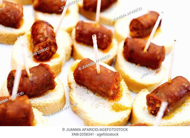 Snacks of Chistorra