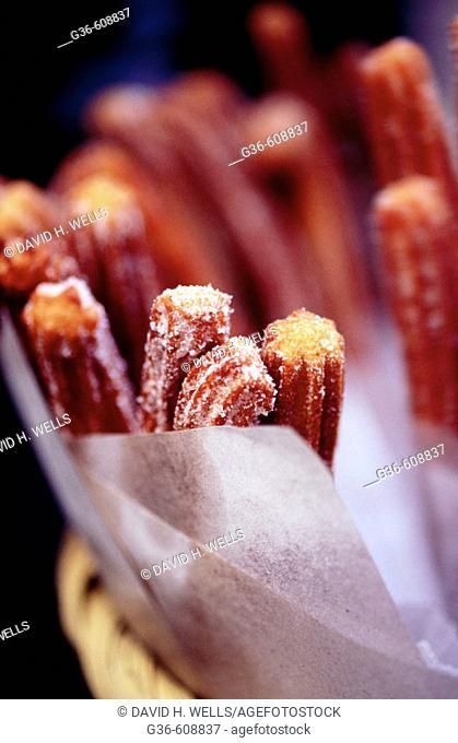 'Churros' dessert