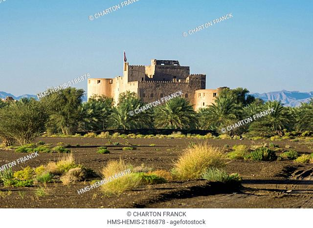 Oman, Ad-Dakhiliyah, Jabrin fort