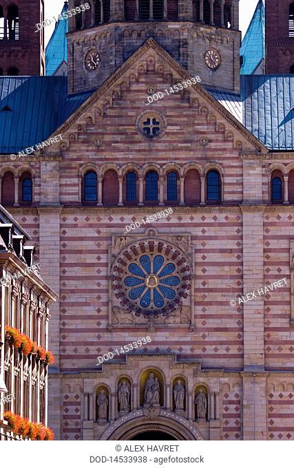 Germany, Speyer Cathedral, westwerk