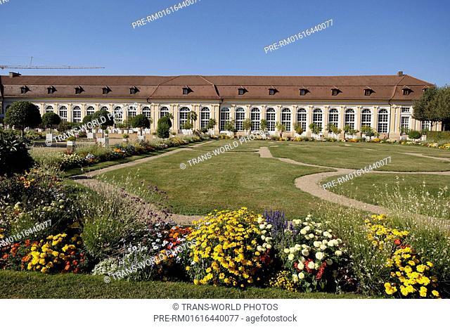 Orangery, Ansbach Residence, Ansbach, Middle Franconia, Bavaria, Germany / Orangerie, Residenz Ansbach, Ansbach, Mittelfranken, Bayern, Deutschland