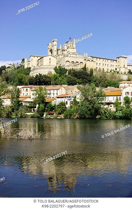 catedral de Saint-Nazaire, 13th-14th Century, Beziers, Herault department ,Languedoc-Roussillon region, France