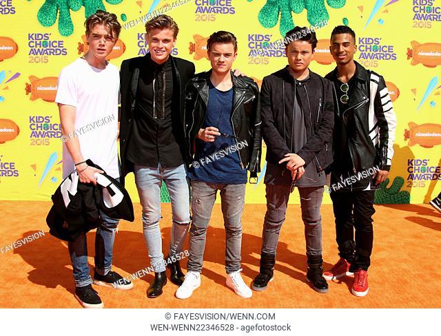 Nickelodeon's 28th Annual Kids' Choice Awards Featuring: Jozua Aaron Isaias, Dioni Jurado-Gomez, Samuel Leijten, Cassius Verbond