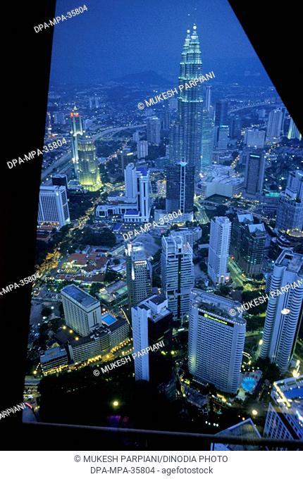 Petronas Towers (KLCC Twin Towers) ; Kuala Lumpur ; Malaysia