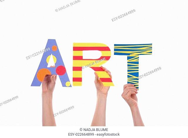 Hands Holding Art