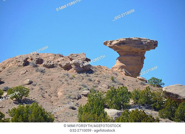 Camel Rock, Tesuque, New Mexico, USA