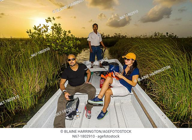 Sian Ka'an Biosphere Reserve is a small ecotourism and education center, it serves as a model for sustainable development in sensitive tropical ecosystems  It...