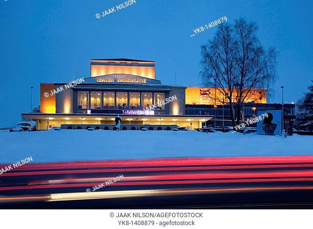 Theatre Vanemuine in Tartu, Estonia, Europe