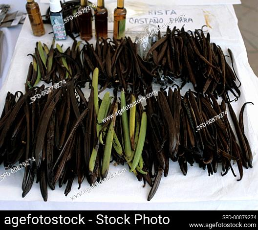 Vanilla pods, Mexico