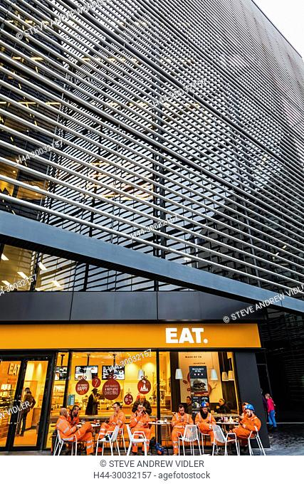 England, London, Southwark, London Bridge City, 6 More London Place Office Building