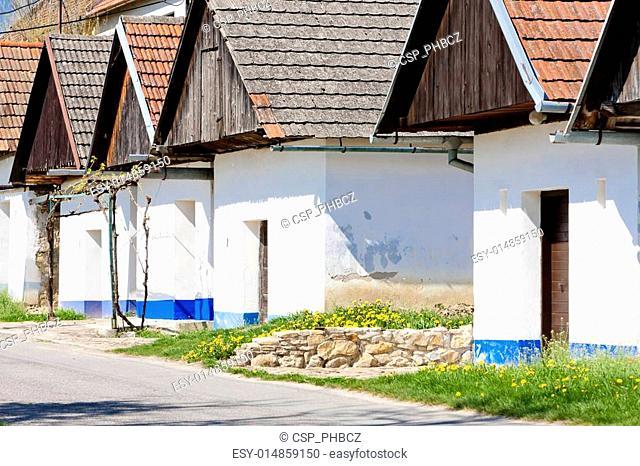 wine cellars, Blatnice pod svatym Antoninkem, Czech Republic