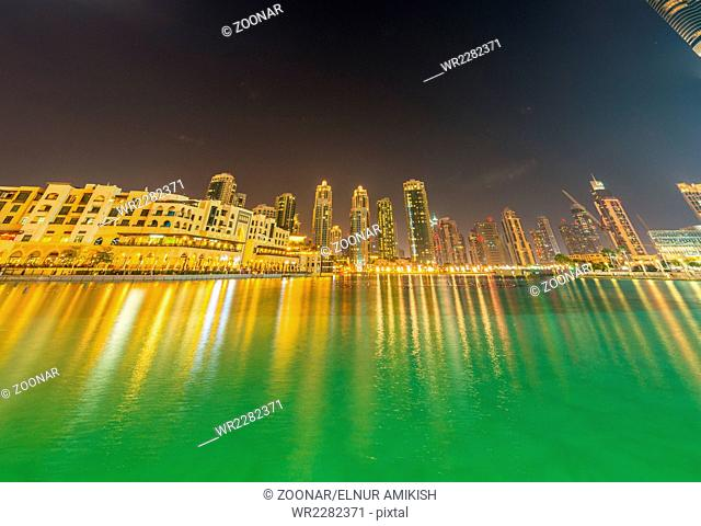 Dubai - JANUARY 9, 2015: Soul Al Bahar on January 9 in UAE, Dubai. Soul Al Bahar area is popular with tourists