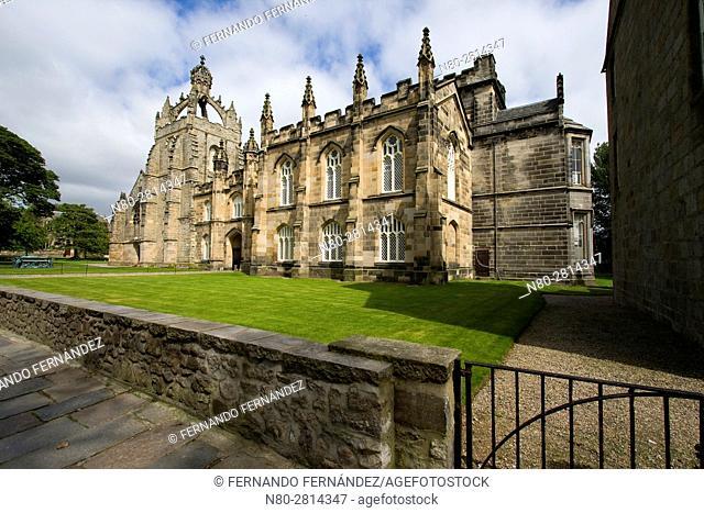 King's College Chapel. High Street. Old Aberdeen. Aberdeen. Scotland. United Kingdom. Europe