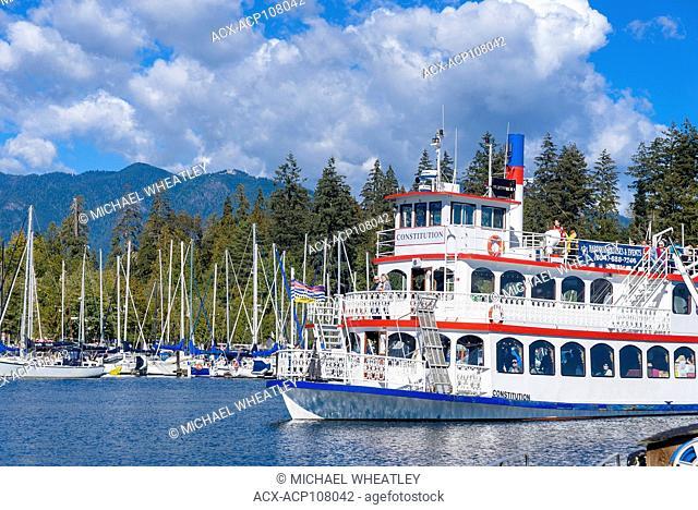 Riverboat 'The Constitution', Coal Harbour, Vancouver, British Columbia, Canada