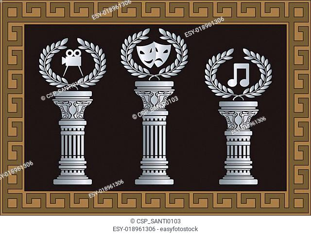 pedestal of arts