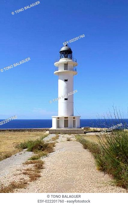 Barbaria lighthouse formentera Balearic islands