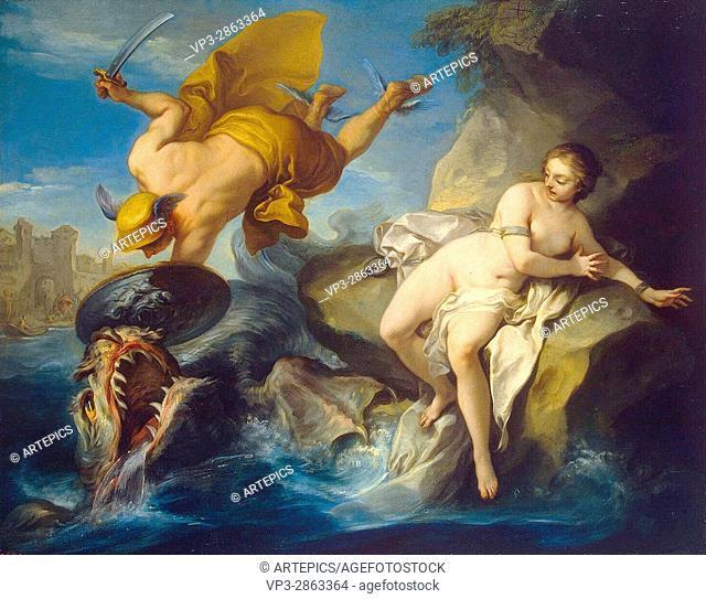 Charles Van loo. Perseus and Andromeda. Hermitage State Museum - St Pétersburg