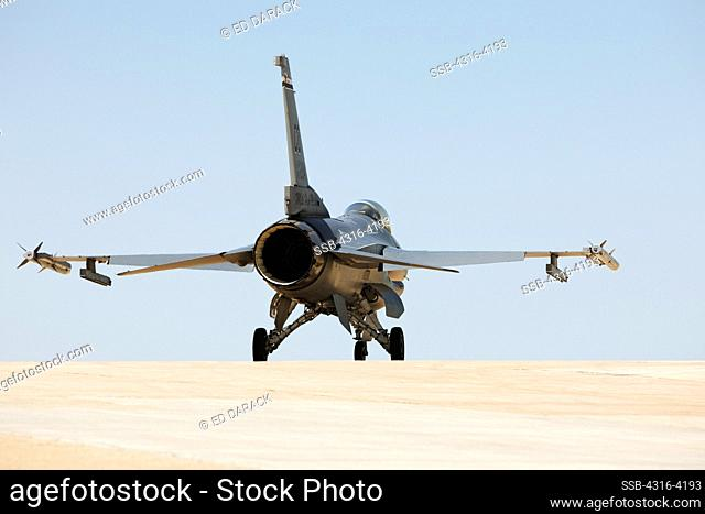F-16 Prepares to Launch