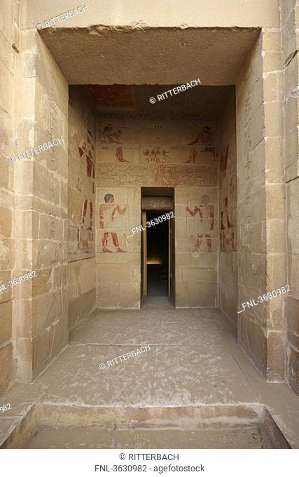 Murlas in the mastaba of Khnumhotep and Niankhkhnum, Saqqara, Egypt