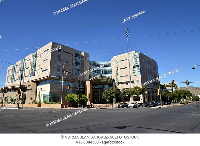 Immigration hearings and Operation Streamline hearings are held at the federal courthouse, Evo A. DeConcini U. S. Courthouse, United States District Court