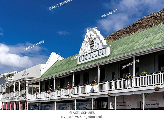 Historic houses, Simon's Town, False Bay, Cape Town, Western Cape, South Africa, Africa