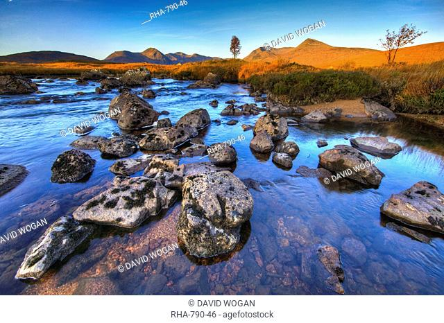Rannoch Moor, Highlands, Scotland, United Kingdom, Europe