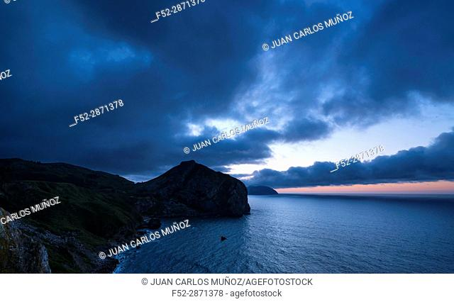 San Julian beach, Cantabrian Sea, Liendo Valley, Cantabria, Spain, Europe