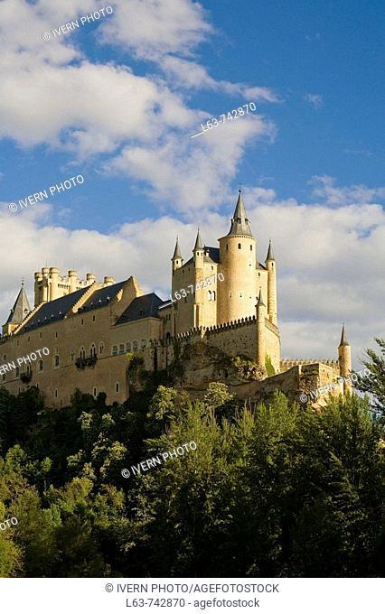 Alcazar fortress, Segovia. Castilla-Leon, Spain