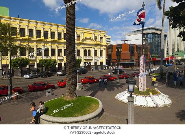 Costa Rica, San Jose, Parque Centrale place, Popular Melico Salazar theater