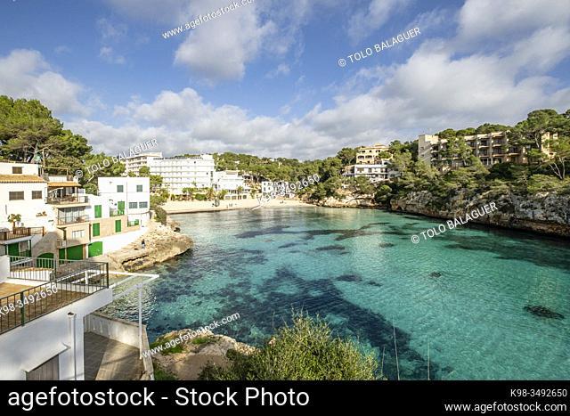 Cala Santanyí, Mallorca, Balearic Islands, Spain